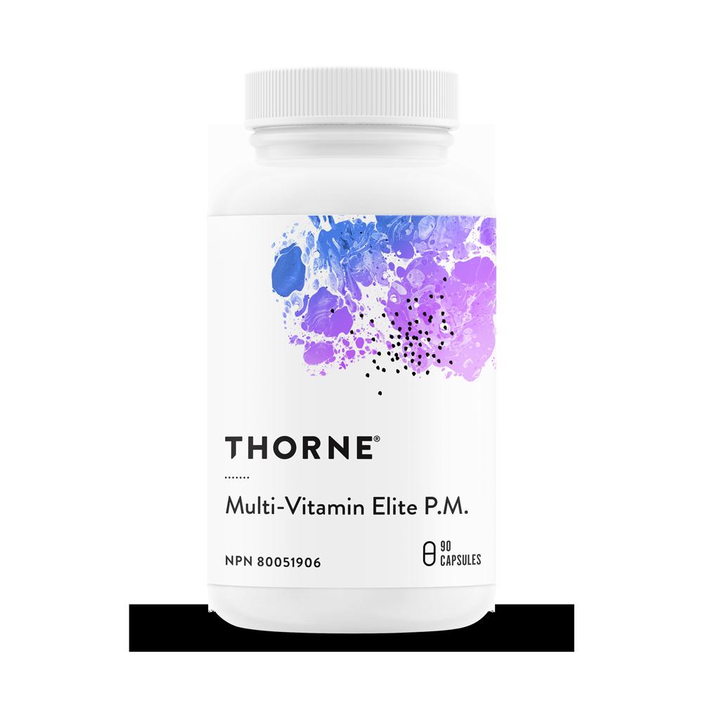 multi-vitamin elite p.m. bottle