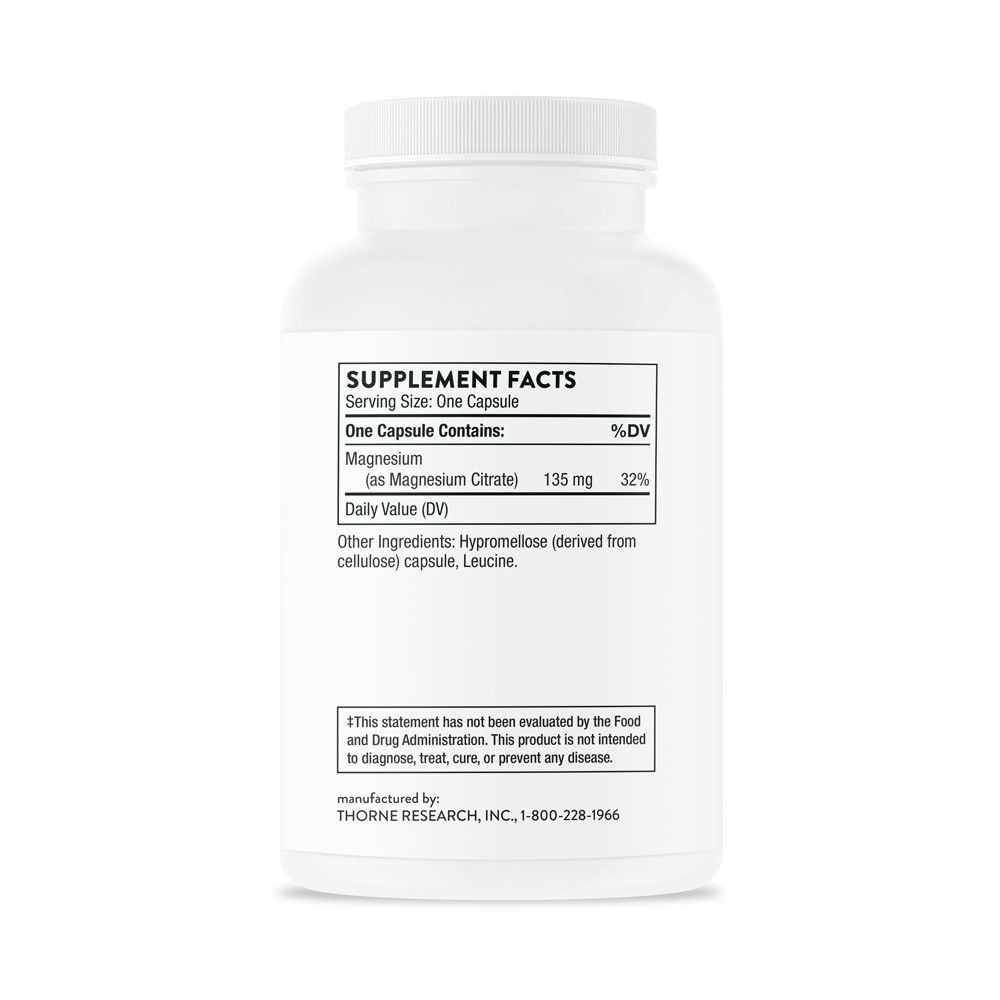 Magnesium Citrate - Discontinued | Thorne