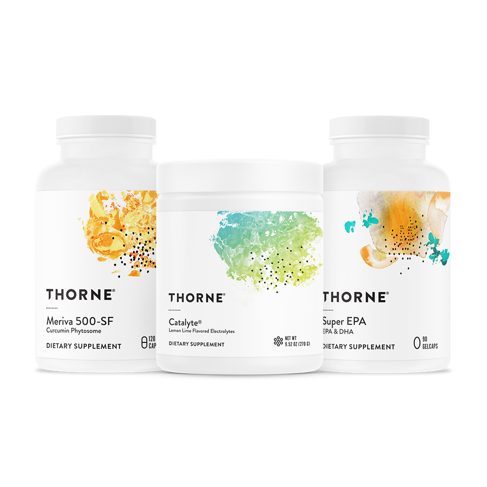 Thornes Recovery Bundle helps replenish lost nutrients and promotes the repair and rebuilding of muscle tissue.* All three products are NSF Certified for Sport.