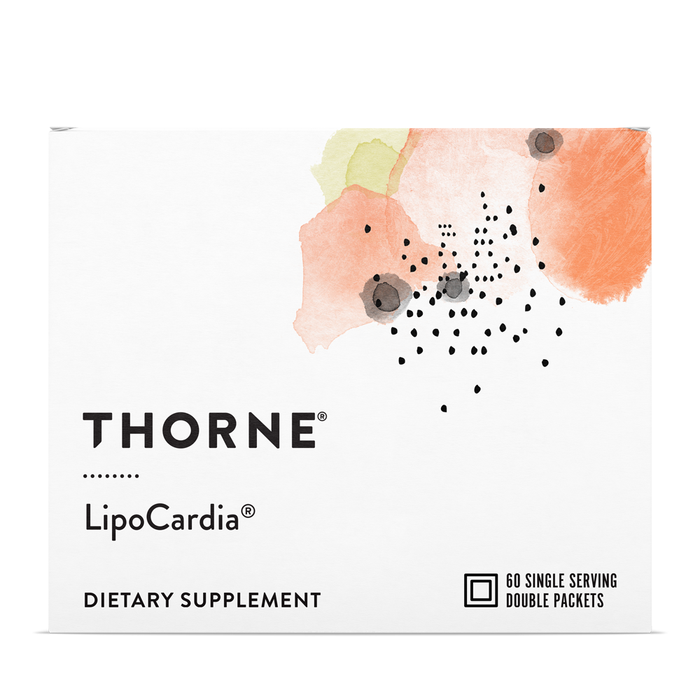 LipoCardia supports 38 mechanisms that promote cardiovascular health.* Backed by clinical research, it provides comprehensive support of healthy lipid levels, including LDL and triglycerides.
